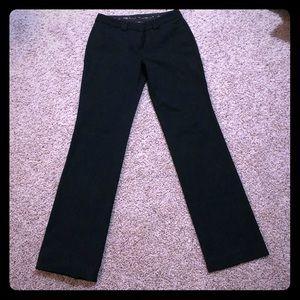 Express Editor Black Boot Cut Pants Size 4R